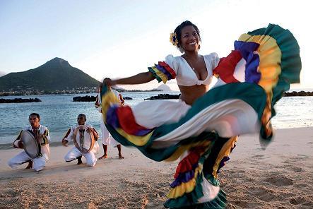 Danse sega à Maurice première destination d'Exotisme leader de la destination sur le marché français.