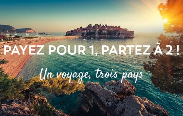 """Opération """"Payez pour 1, partez à 2"""" lancée par Visit Europe - DR"""