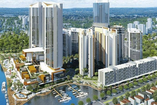 Vue numérique du projet à Ho Chi Minh City qui ouvrira en 2020 - Crédit photo : Mövenpick