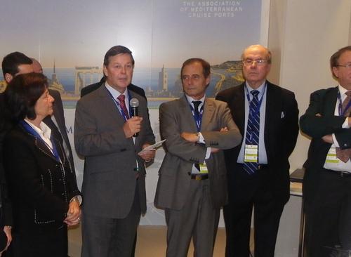 Inauguration du Seatrade Med