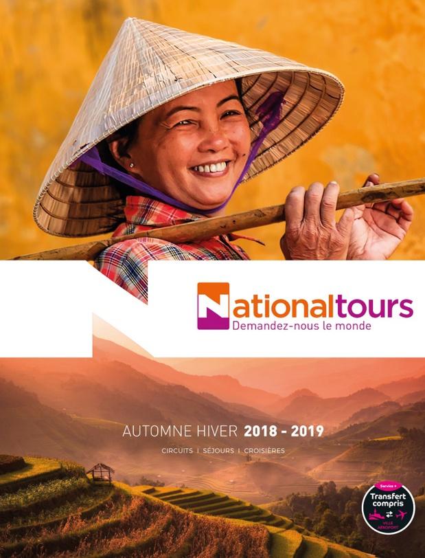 Nouveau catalogue pour Nationaltours