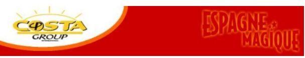 Costa group : Super promo Costa del Sol 8 jours/7 nuits en hôtel 4*, pension complète et boissons incluses