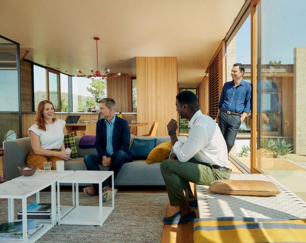 Airbnb for Work met à disposition des entreprises des logements pour les séminaires et les réunions - DR : Airbnb