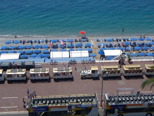 La promenade des Anglais à Nice - Photo DR