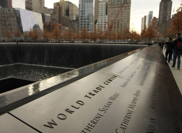 Le mémorial du 11 Septembre, sur le site des anciennes tours jumelles du World Trade Center, à New York - DR : jarin13, depositphotos