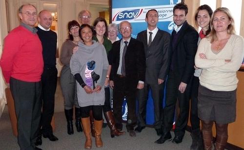 Autour de Christian Orofino (au centre) les membres de la Commission
