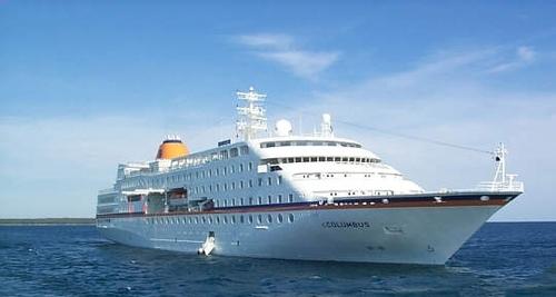 Colombus petit frère du Bremen avec 267 passagers et 176 membres d'équipage à son bord fera escale à Mayotte ce vendredi 10 décembre