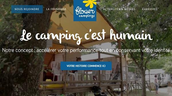 Flower Campings met en ligne son site BtoB pour les franchisés - Crédit photo : Flower Camping
