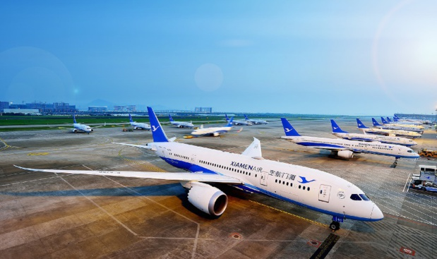 Xiamen Air lance un vol direct Paris - Fuzhou (Chine)