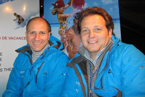 Olivier Abergel et Yariv Abehsera les fondateurs et directeurs du groupe Travelfactory
