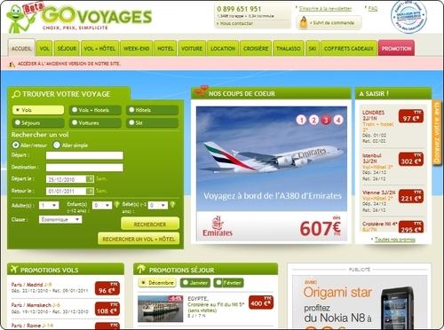 Go Voyages : le tour operating pas assez rentable pour les actionnaires