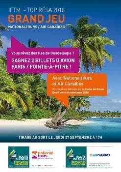 Route du Rhum : Air Caraïbes et Nationaltours organisent un jeu concours à l'IFTM - DR