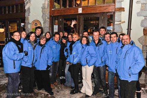 L'équipe de Travelfactory : beaucoup de travail pour un éductour réussi  © Alexandre Nestora