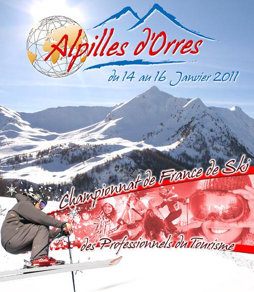 Alpilles organise le 1er Championnat de France de Ski des professionnels du tourisme