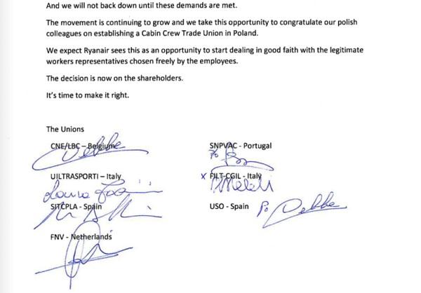 La lettre du syndicat Belge CNE ratifiée par d'autres organisations syndicales européennes - Crédit photo : CNE