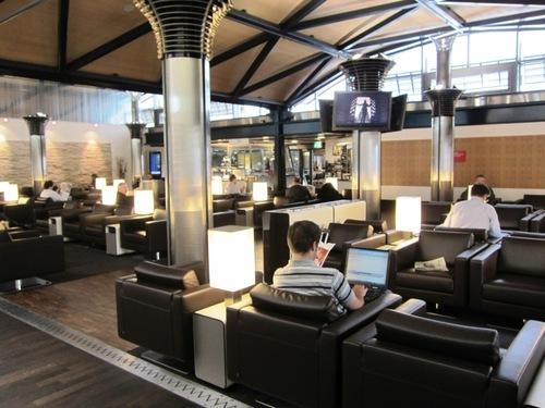 Les salons Business de SWISS à Zurich