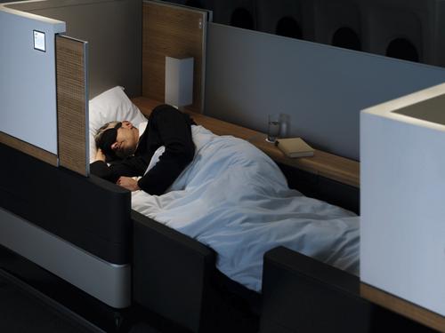 Un véritable lit dans en First