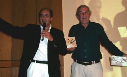 Jean-Pierre Mas a remis à ''UNA'' le prix coup de coeur d'Afat