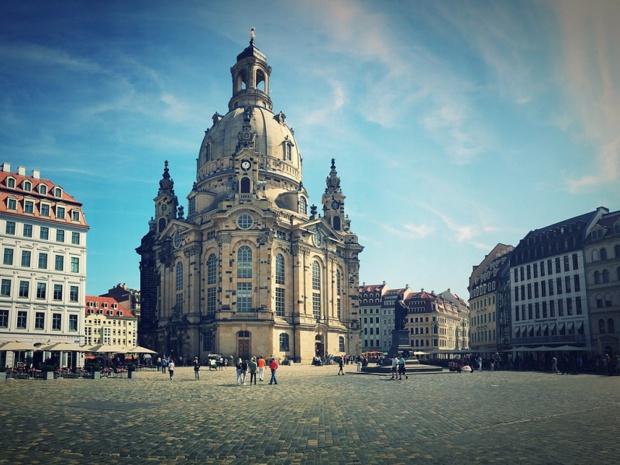 Plus Belle l'Europe mise sur l'Allemagne avec un passage par Dresde - crédit photo : Pixabay CC0 Creative Commons
