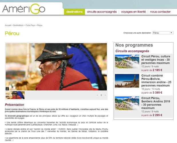 Nouveau circuit au Pérou qui emmènera les voyageurs sur les sites de Taquile, des Salines de Maras, à la Porte du Soleil au Machu Picchu - DR