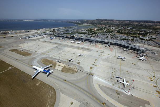 L'aéroport Marseille - Provence conseille d'anticiper sa venue ou de prendre le train - DR : C. Moirenc