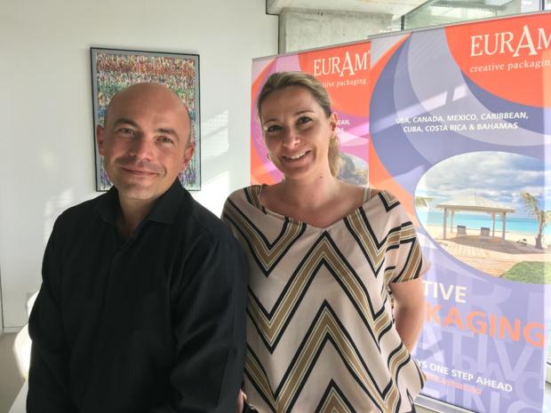 Alexandre Contoux et Audrey Labarthe, responsables développement commercial EurAm. – CL