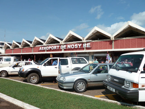 L'aéroport international de Nosy Be, le petit archipel situé au nord ouest de Madagascar