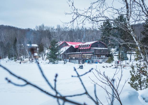 L'auberge du Lac Morency, au Québec, nouveau club Lookéa cet hiver © DR TUI