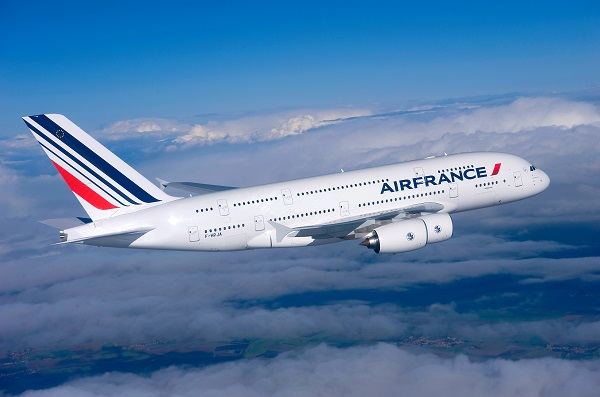 Un A380 sera positionné sur la ligne Paris-Atlanta - Crédit photo : Air France