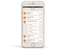l'application Luciole permet de créer son trajet - crédit photo comptoir des voyages
