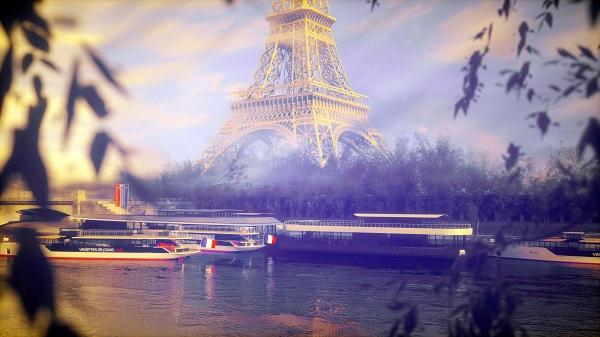 C'est un point de vue unique sur la Seine que va proposer Vedettes de Paris - Crédit photo : Vedettes de Paris