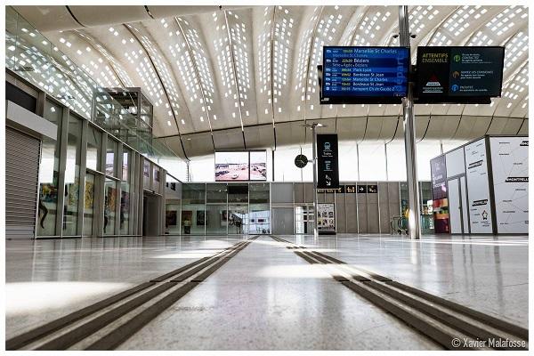 vers une ligne privée entre Montpellier et Madrid - Crédit photo : compte Facebook @xmalafosse