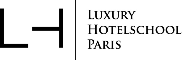 le nouveau logo de la Luxury Hotelschool Paris - Crédit photo : LH
