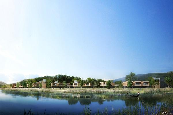 Le village des Oiseaux ouvrira en juin 2019 - Crédit photo : Vacancéole