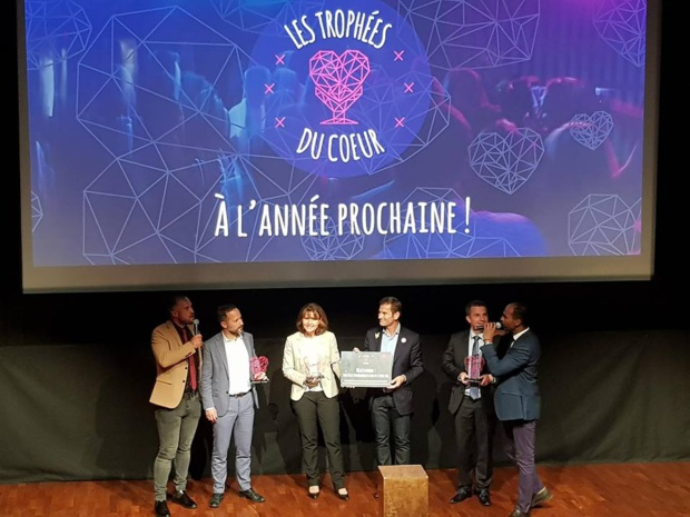MisterFly et l'association Imagine For Margo remportent le Trophée du Cœur 2018 - DR