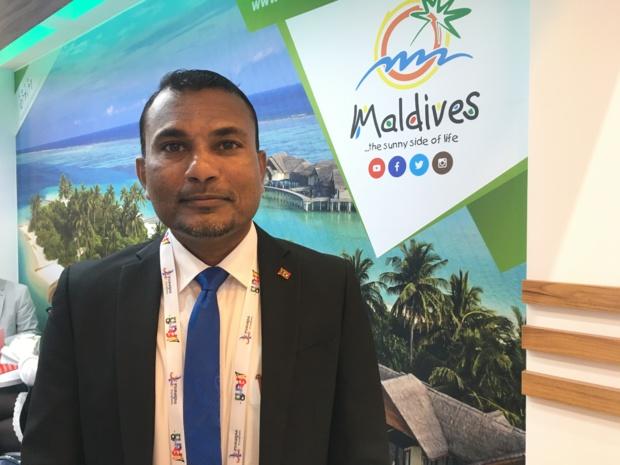 Haris Mohamed, directeur général de l'office de tourisme des Maldives. - CL