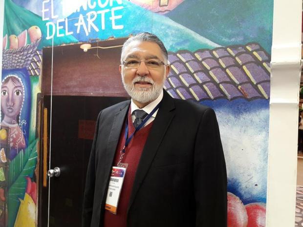 José Napoleon Duarte Duran, ministre du tourisme de la République du Salvador au salon IFTM Top Resa - DR : M.S.