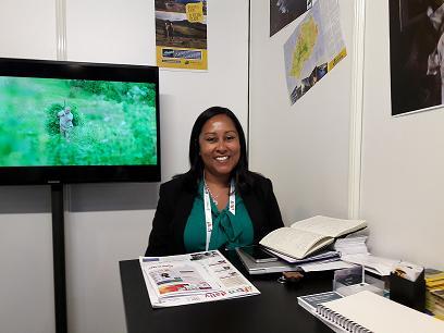 Helena Bennett Directrice du tourisme de Sainte-Hélène.MS.