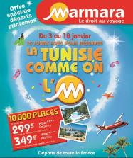 Marmara : 10 000 séjours en Tunisie à partir de 299€TTC