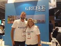 Alexandra Petraki directrice et Ludovic Mavronikolas coordinateur de Héliades DMC.