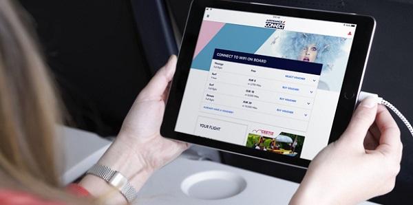 Le Wi-FI arrive sur les avions Air France - Crédit photo : Air France