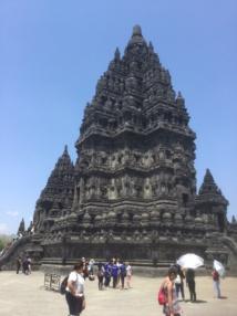 Prambanan, le plus vaste et le plus beau temple hindouiste de toute l'Indonésie - DR : J.-P.C.