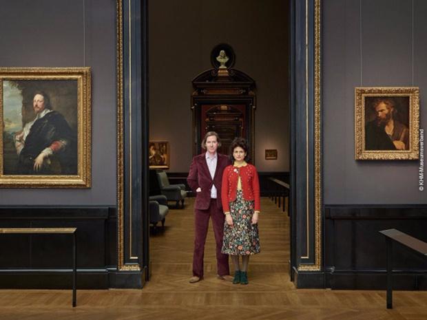 Wes Anderson and Juman Malouf se prêtent au jeu et créent une exposition étonnante avec les trésors du  Kunsthistorisches Museum.