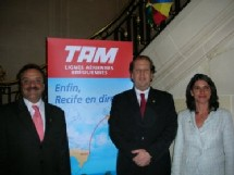 José Wagner Ferreira, Edouardo Sanovicz et Flavia MALKINE