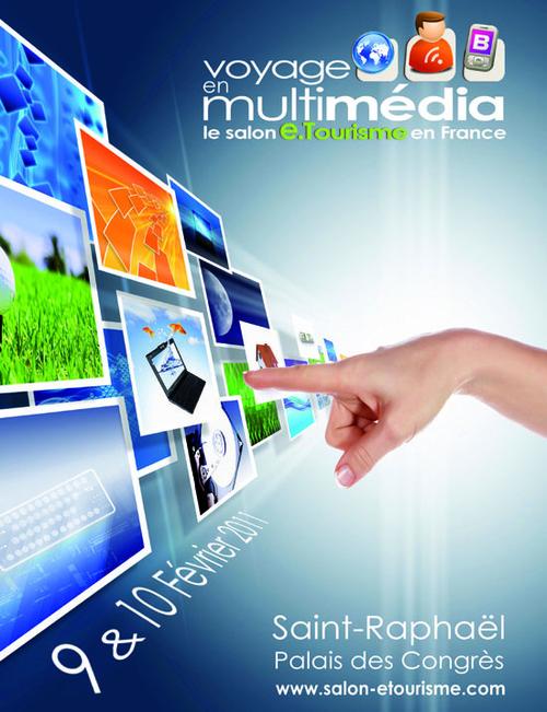 Voyage en Multimédia : le salon du e-tourisme pour les institutionnels et pros du tourisme