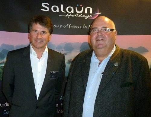 Salaün Holidays a organisé ce week-end au Portugal la plus grande convention de son histoire sous la houlette de Michel Salaun, PDG et Stpéhane Le Pennec, DG du Groupe.