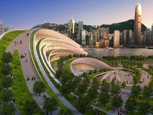 Hong Kong a inauguré sa première ligne à grande vitesse - crédit photo : Hong Kong tourism board