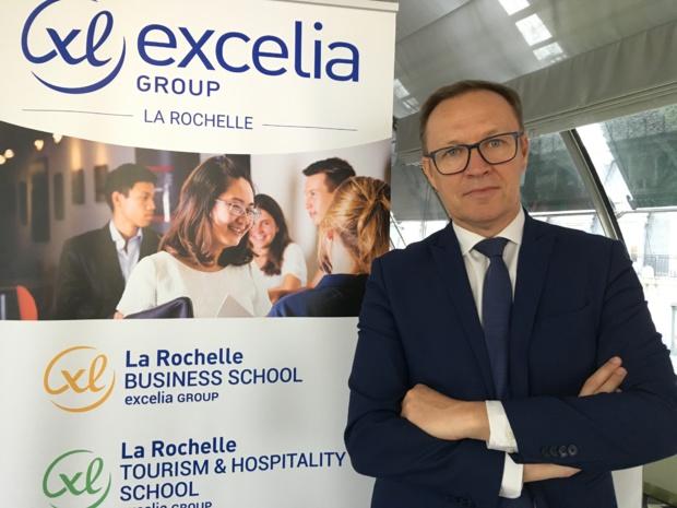 Marc Gibiat, directeur de La Rochelle School of Tourism & Hospitality. - CL
