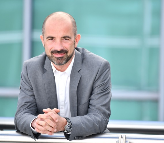 Pierre Grosmaire nouveau directeur commercial et marketing de l'aéroport de Lyon - DR
