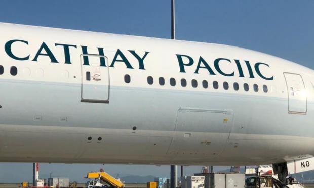 Quand Cathay Pacific s'emmêle les pinceaux ©CP Facebook